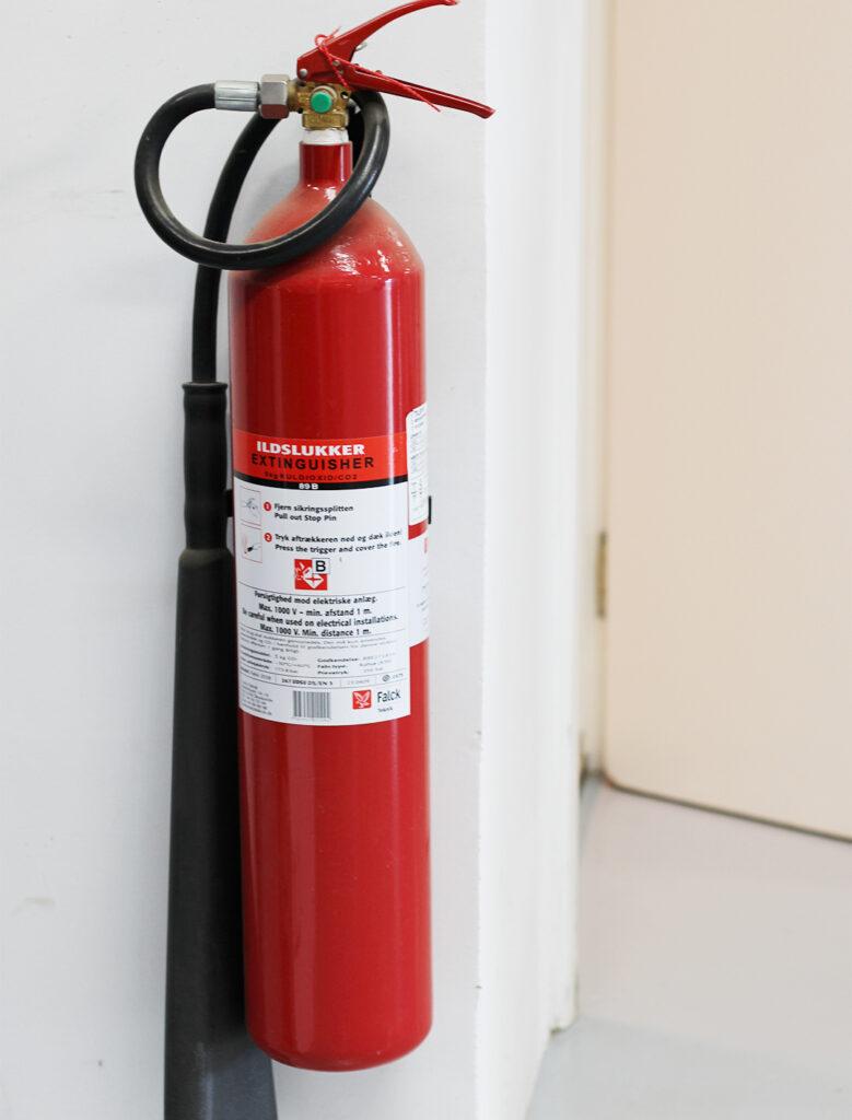 Brandslukker til brandslukning