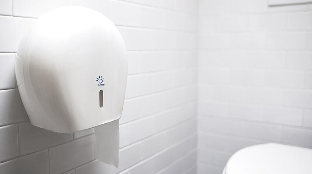 Hygiejnepapir til offentlige toiletter