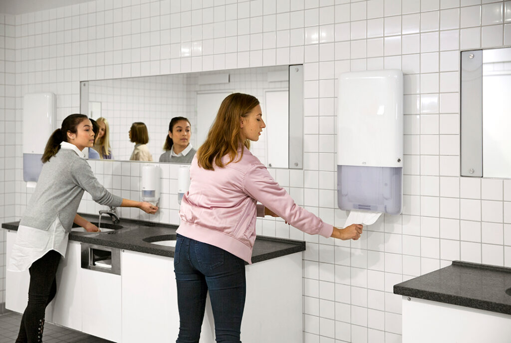 Dispenser til toilettet