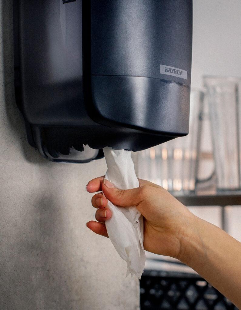 Papir dispenser